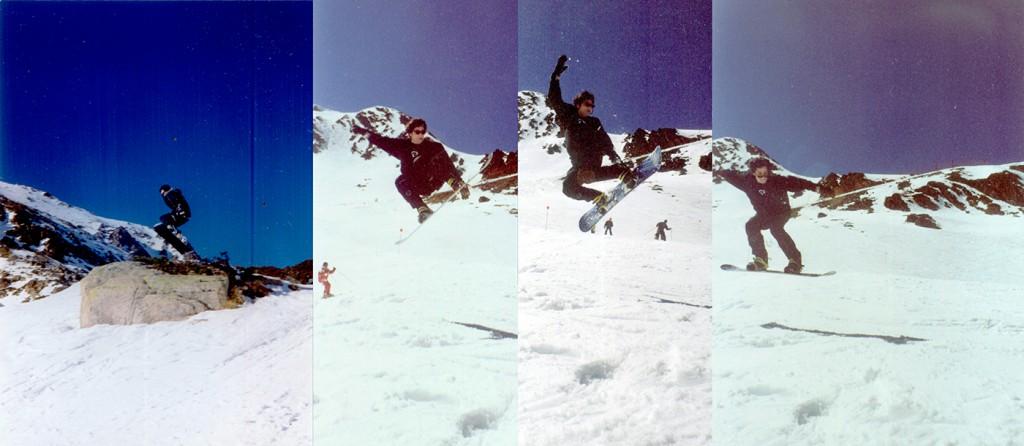 Roberto Soria. Snowboard
